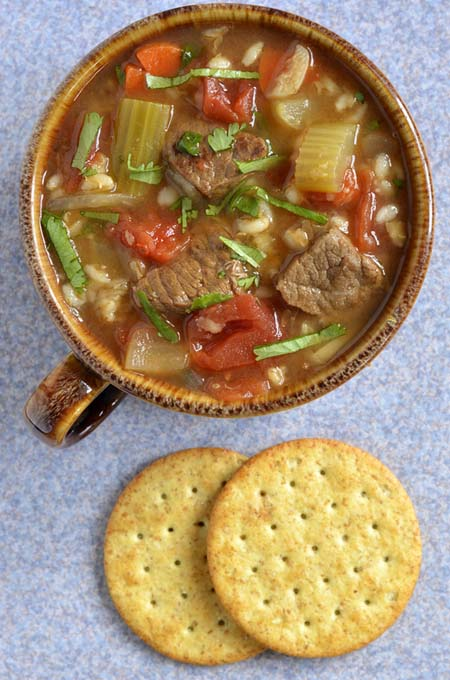 The Best Beef and Barley Soup Recipe