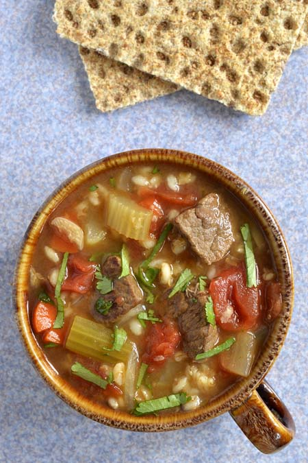 The Best Beef and Barley (and Vegetable) Soup Recipe | Foodal.com