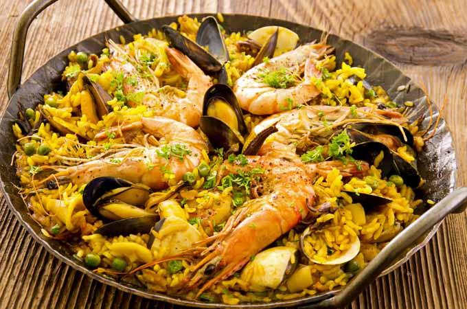 The Best Seafood Paella Recipe | Foodal.com