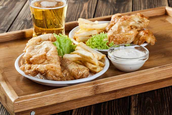 Traditional Fish and Chips with Pale Ale | Foodal.com