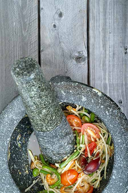 Traditional Thai Mortar and Pestle | Foodal.com
