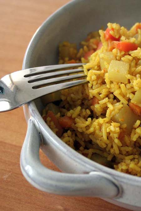 Vegan Sweet Potato Pilaw   Foodal.com