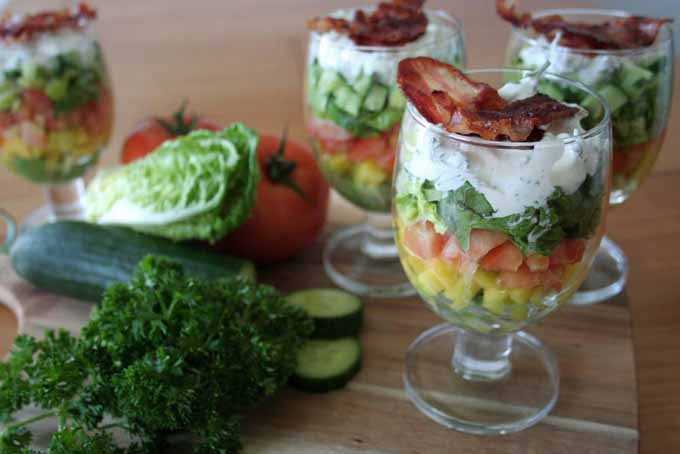 A Quick and Easy Layered Salad   Foodal.com