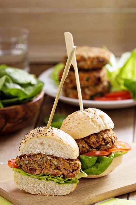Bountiful Bean Burger Recipe   Foodal.com