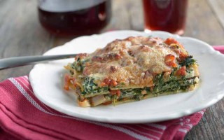 Fresh and Fruity Spinach Lasagna: A Great Choice for Your Next Meat Free Day