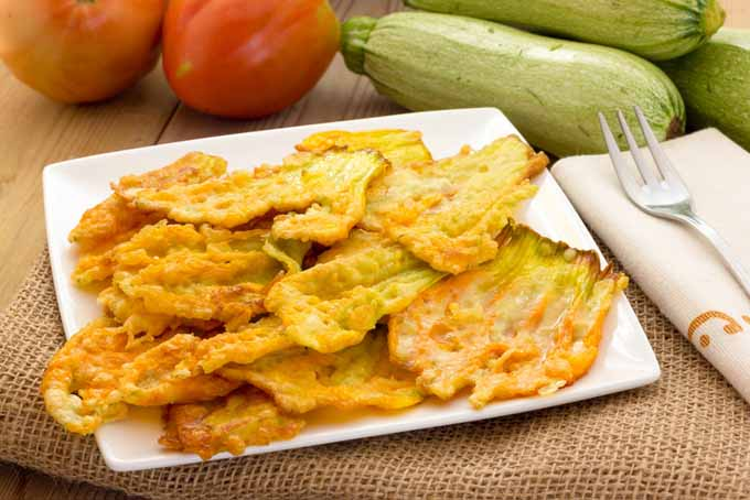 Tempura Fried Zucchini Flowers - 11 Ways to Use Summer Squash | Foodal.com