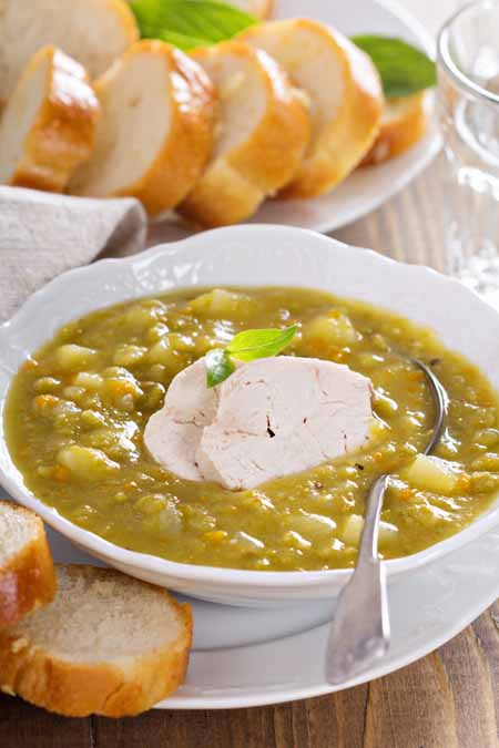 Hearty Chicken Split Pea Soup Recipe | Foodal.com