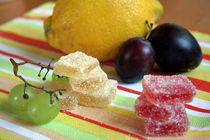 Homemade Real Fruit Juice Jellied Candy Recipe | Foodal.com