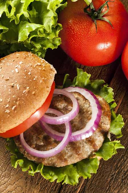 Homemade Turkey Burger   Foodal.com