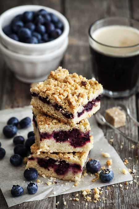 Recipe for Blueberry Oatmeal Squares | Foodal.com