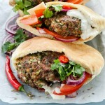 Recipe for Zesty Lamb Burgers with Fetziki Sauce | Foodal.com