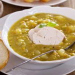 Thick and Hearty Chicken Split Pea Soup Recipe | Foodal.com