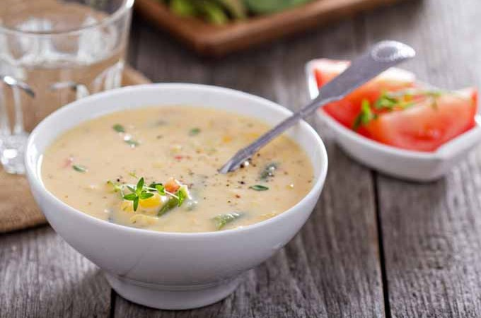 Vegetables and Corn Chowder Recipe | Foodal.com