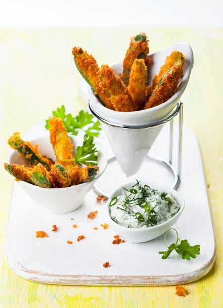 Zucchini Fries - 11 Ways to Use Summer Squash   Foodal.com