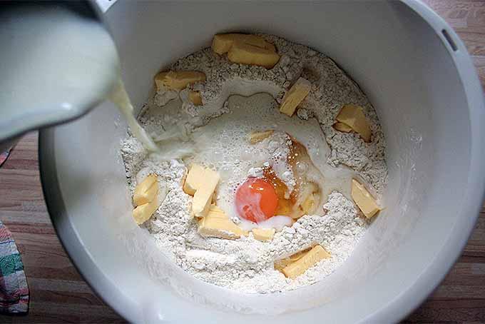 Making Dampfnudel Dough   Foodal.com
