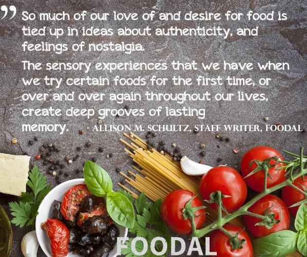 Food and Memories | Foodal.com