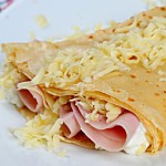 Ham And Cheese Crepes | Foodal.com