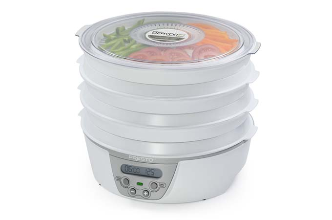 Presto 06301 Dehydro Digital Electric Food Dehydrator Review | Foodal.com