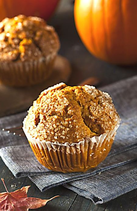 Pumpkin Nut Muffins Recipe — Dishmaps