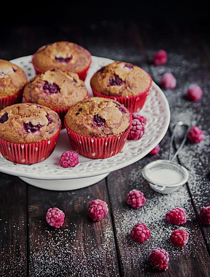 Raspberry Muffins | Foodal.com
