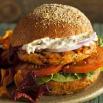 Recipe for Grilled Salmon Burgers with Homemade Tartar Sauce | Foodal.com