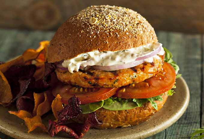 ... for Grilled Salmon Burgers with Homemade Tartar Sauce | Foodal.com