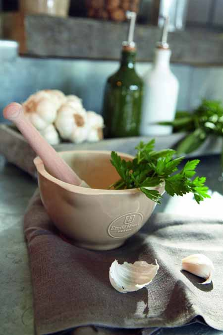 The Emile Henry Clay Mortar and Pestle | Foodal.com