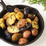 Roasted New Potatoes with Assorted Herbs Recipe | Foodal.com