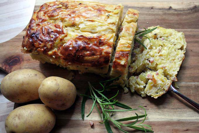 Potthucke A Traditional German Potato Cake Recipe