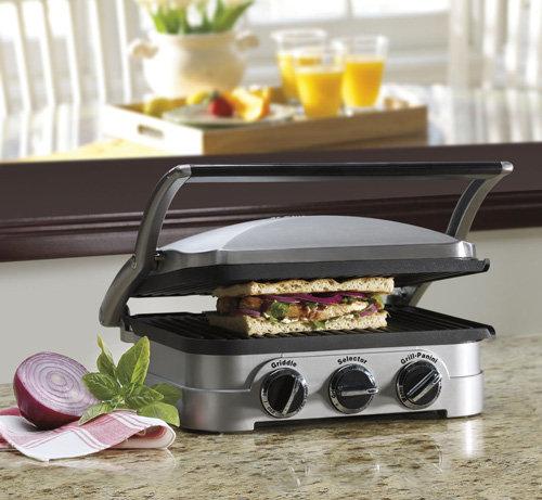 Cuisinart GR-4N 5-in-1 Griddler | Foodal.com
