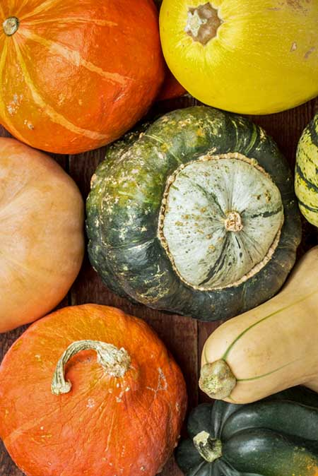 How to Prepare Winter Squash and Pumpkins