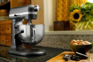 The KitchenAid 6 Quart Professional 600 Series Can Handle All Day Baking