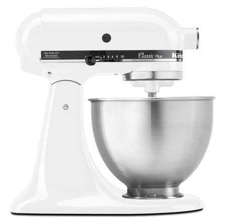 Model K A Kitchen Aid Mixer Is How Many Quarts