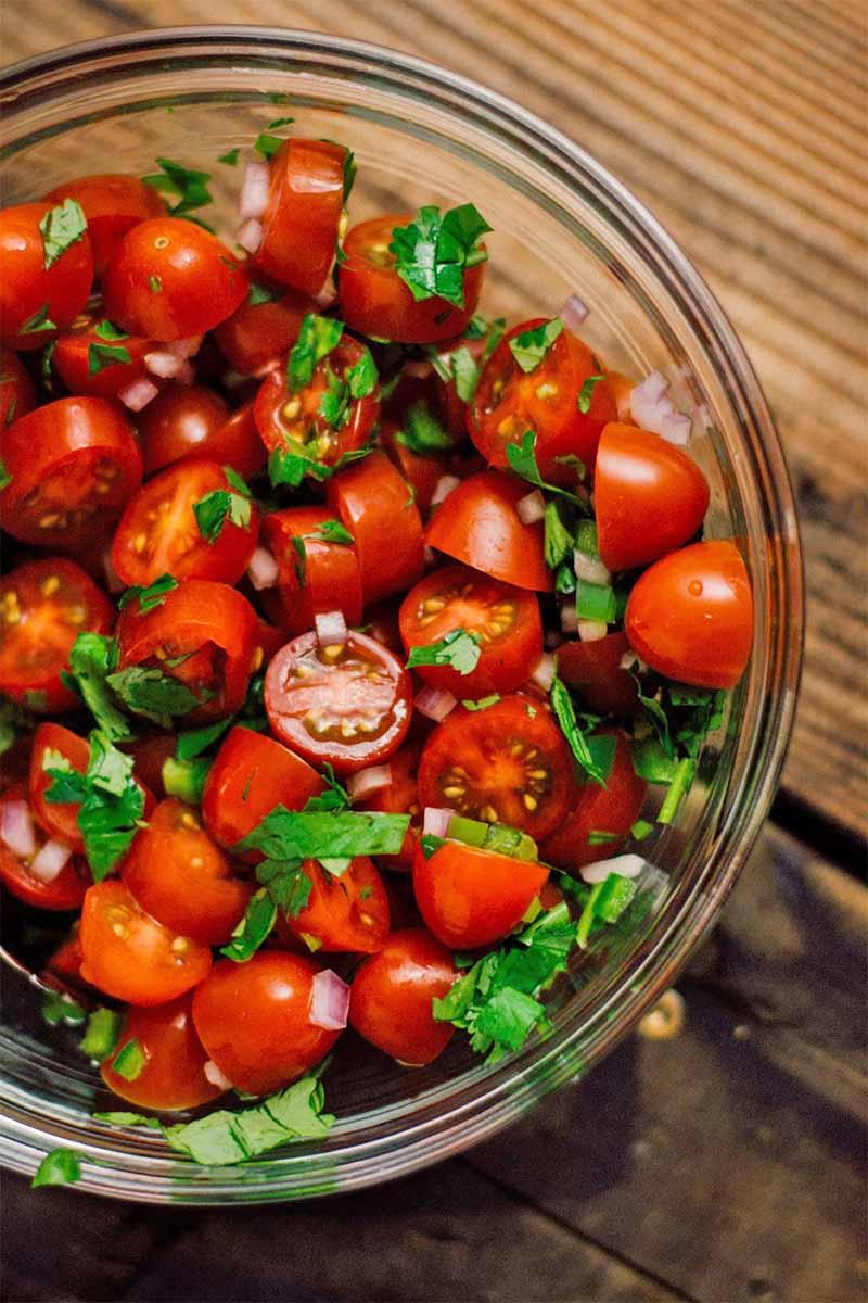 how to make homemade salsa for nachos