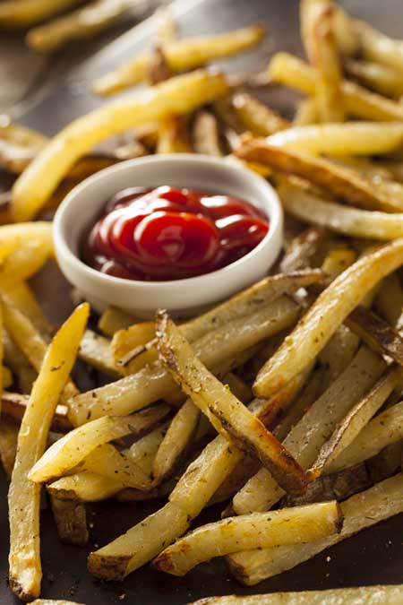 Oven Baked Homemade French Fries | Foodal.com