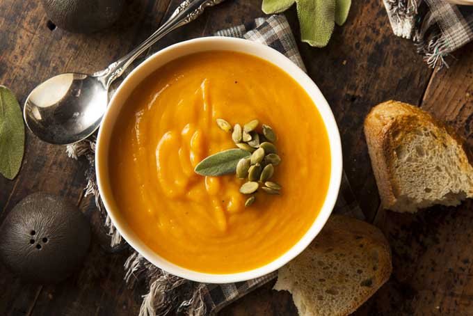 Recipe for Slow Cooker Butternut Squash Soup | Foodal.com