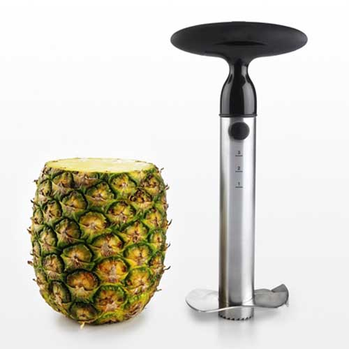 Tomorrow S Kitchen Stainless Steel Pineapple Corer Slicer And Wedger