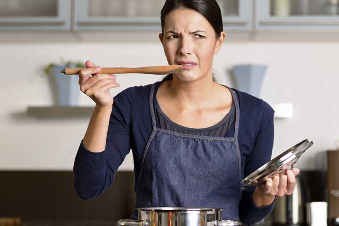 Cooking Mistake #2: Not Tasting