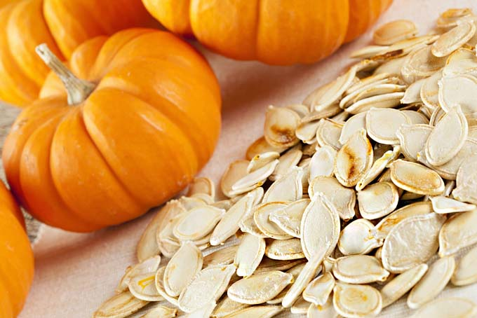 Toasted and Seasoned Pumpkin Seeds | Foodal.com