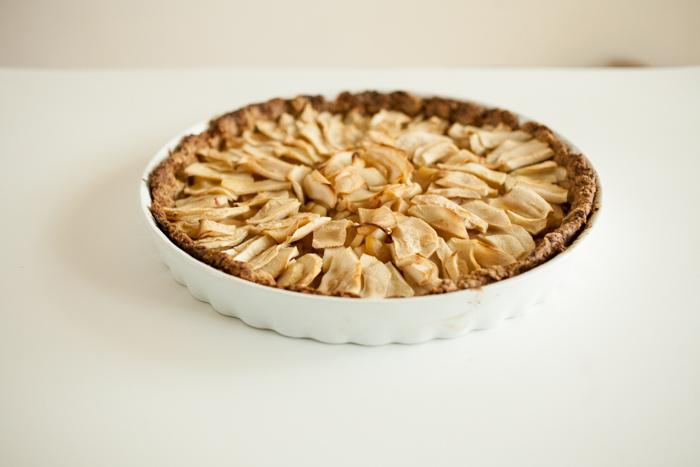 french apple tart-5