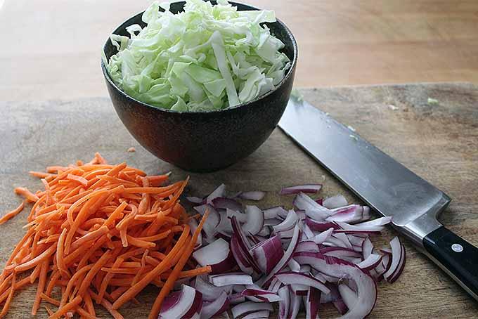 Shrimp Tacos with Cabbage Slaw and Avocado Salsa for Taco Tuesday   Foodal.com
