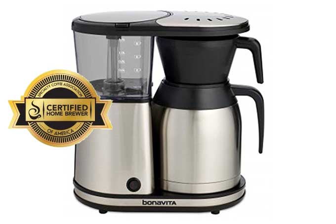 Bonavita BV1900TS 8-Cup Carafe Coffee Brewer Review | Foodal.com