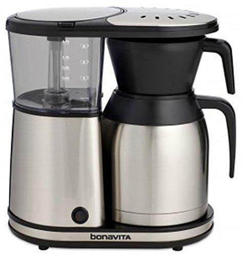 Bonavita BV1900TS 8-Cup Carafe Coffee Brewer, Stainless Steel | Foodal.com