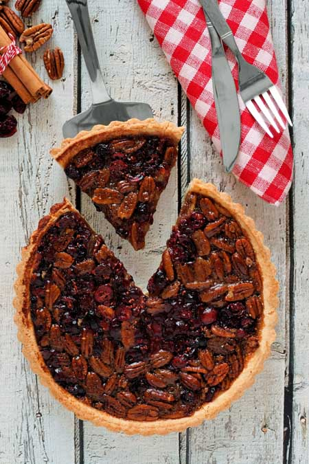 Cranberry Pecan Pie | Foodal.com