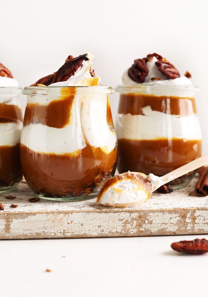 Pumpkin Pie Parfaits