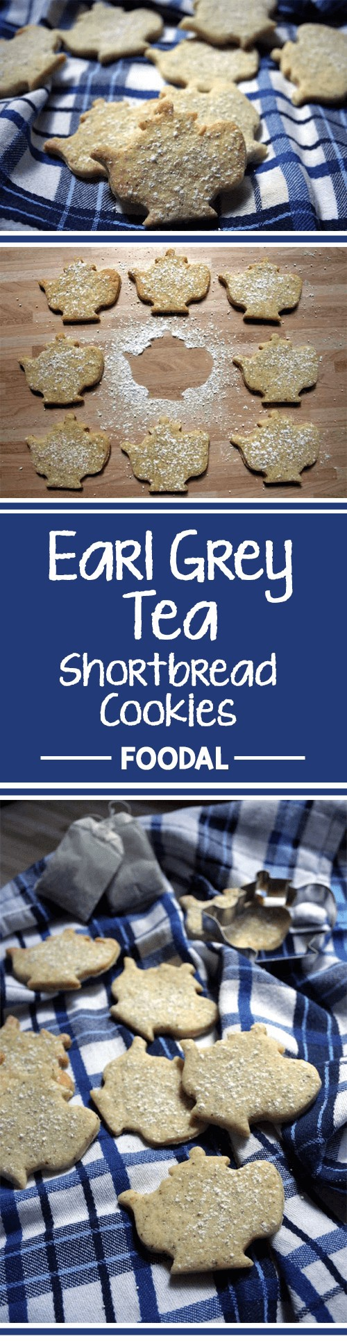 How about a fresh cup of tea? And some crunchy cookies? This time, you can have all at once with this delicious shortbread recipe. It comes with a hint of Earl Grey bergamot flavor and a buttery taste. Read on for some gorgeous little tea time treats. https://foodal.com/recipes/desserts/earl-grey-tea-flavored-shortbread-cookies/