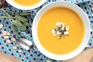 Fill Your Bowl with Flavorful Curried Pumpkin Soup