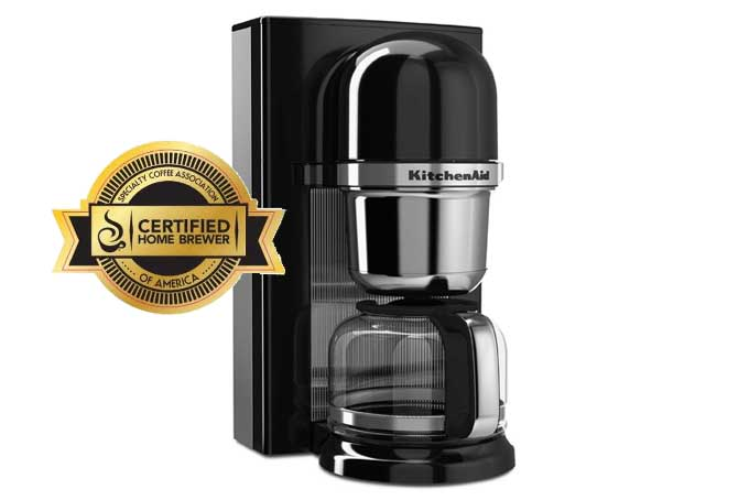 German Pour Over Coffee Maker : KitchenAid KCM0801 Pour Over Brewer Review Foodal