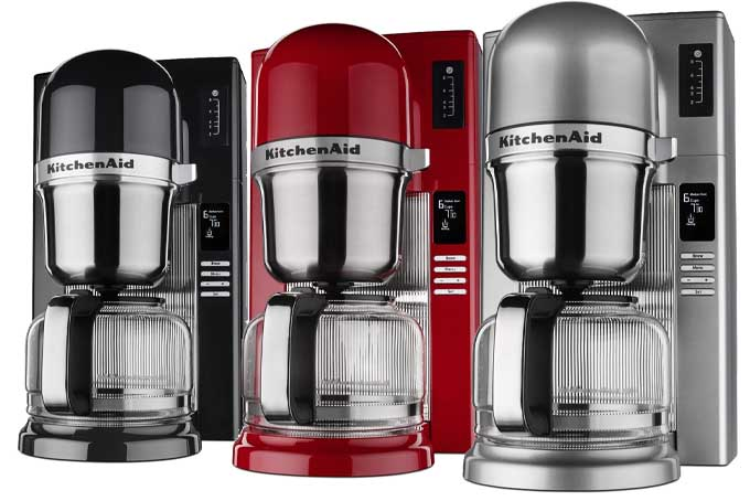 German Pour Over Coffee Maker : KitchenAid KCM0802 Pour Over Coffee Brewer Review Foodal