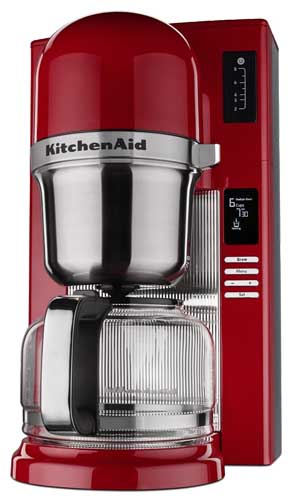 Kitchenaid Pour Over Coffee Maker Red : KitchenAid KCM0802 Pour Over Coffee Brewer Review Foodal
